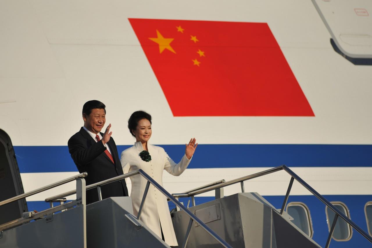 Xi Jinping and Peng Liyuan 2013