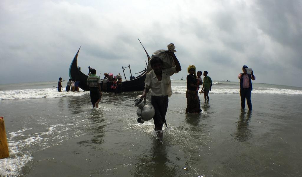 Refugiați Rohingya în Bangladesh, în 2017