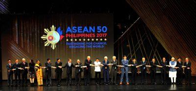 Liderii statelor partenere ASEAN la summitul ASEAN 2017