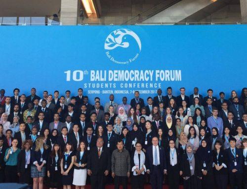 Cea de-a zecea ediție a Bali Democracy Forum