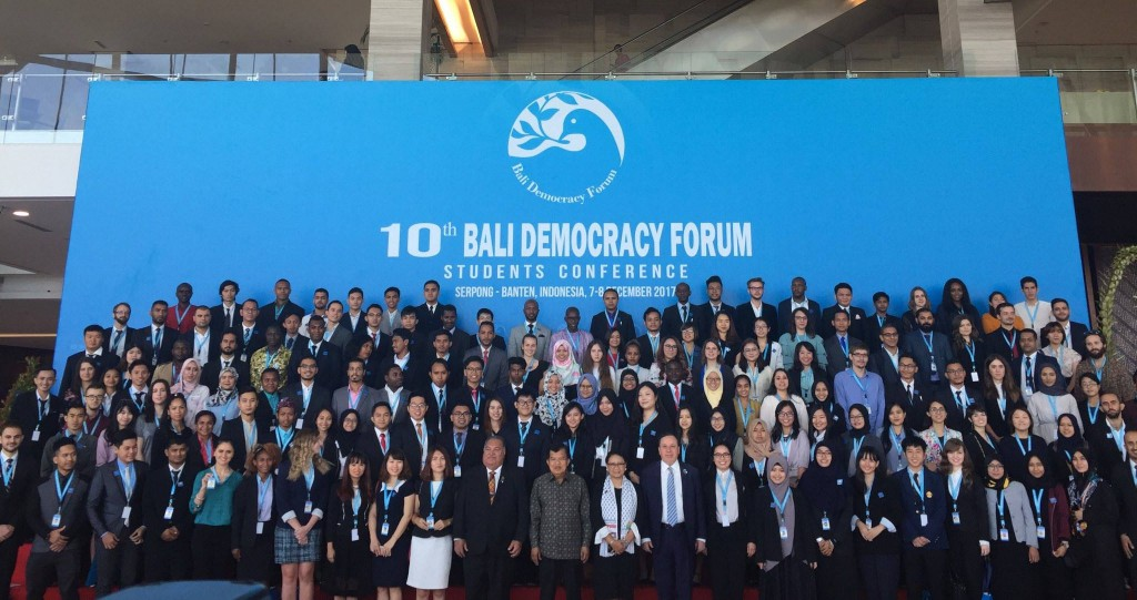 Poza de grup Bali Democracy Forum