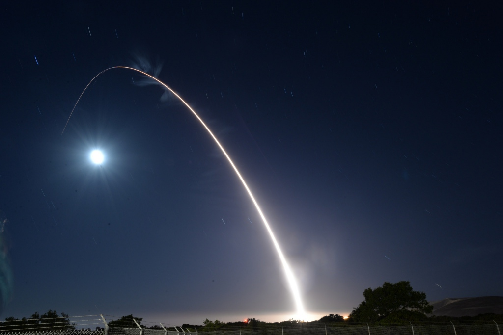 Test ICBM american 2017