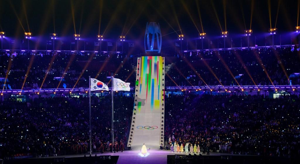 Ceremonia de deschidere a Jocurilor Olimpice de la Pyeongchang
