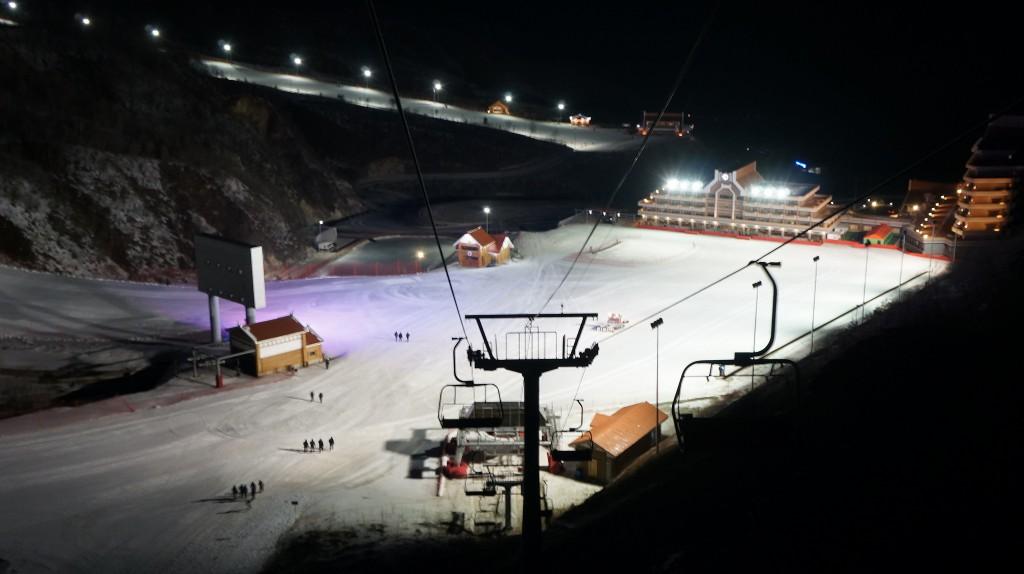 Complexul de schi Masikryong din Coreea de Nord