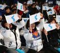 Susținătoare ale echipei de hochei unite a Coreei