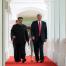 Donald Trump și Kim Jong-un în Singapore