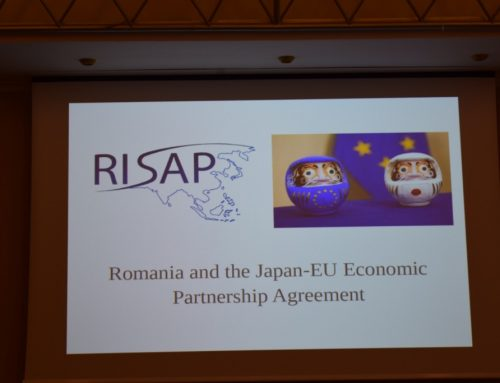 Romania and the Japan-EU Economic Partnership Agreement Conference