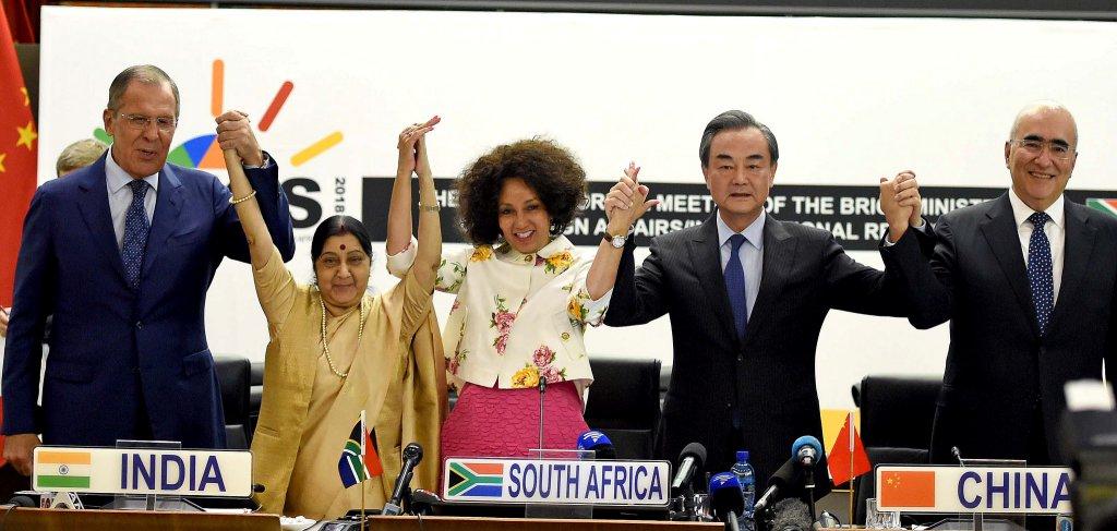 Miniștrii de externe BRICS în 2018