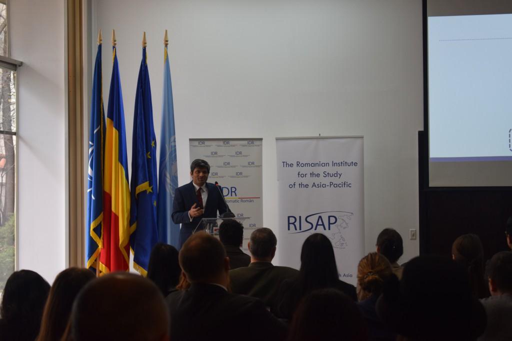 The speech of Mr. Vijay Palamadai, Country Head of Dr. Reddy's Laboratories Romania