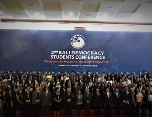 Bali Democracy Students Conference 2018