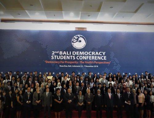 Bali Democracy Students Conference 2018
