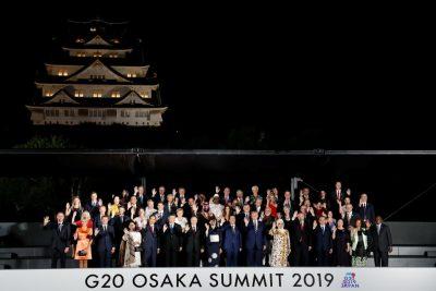 Liderii țărilor G20 la Osaka