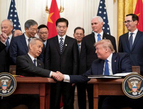 Istoricul războiului comercial China-SUA