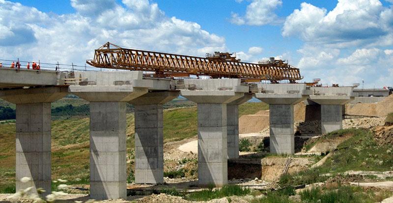 Autostrada A3 din Romania în construcție