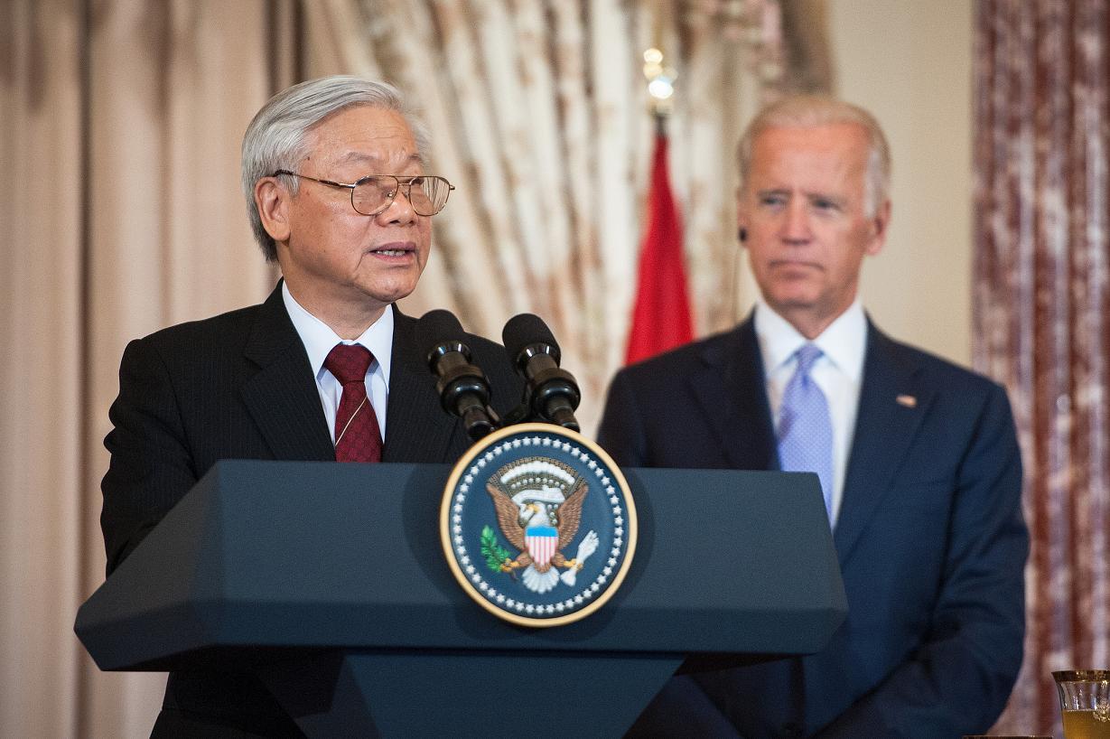 Secretarul general al Partidului Comunist Vietnamez in vizita la Washington