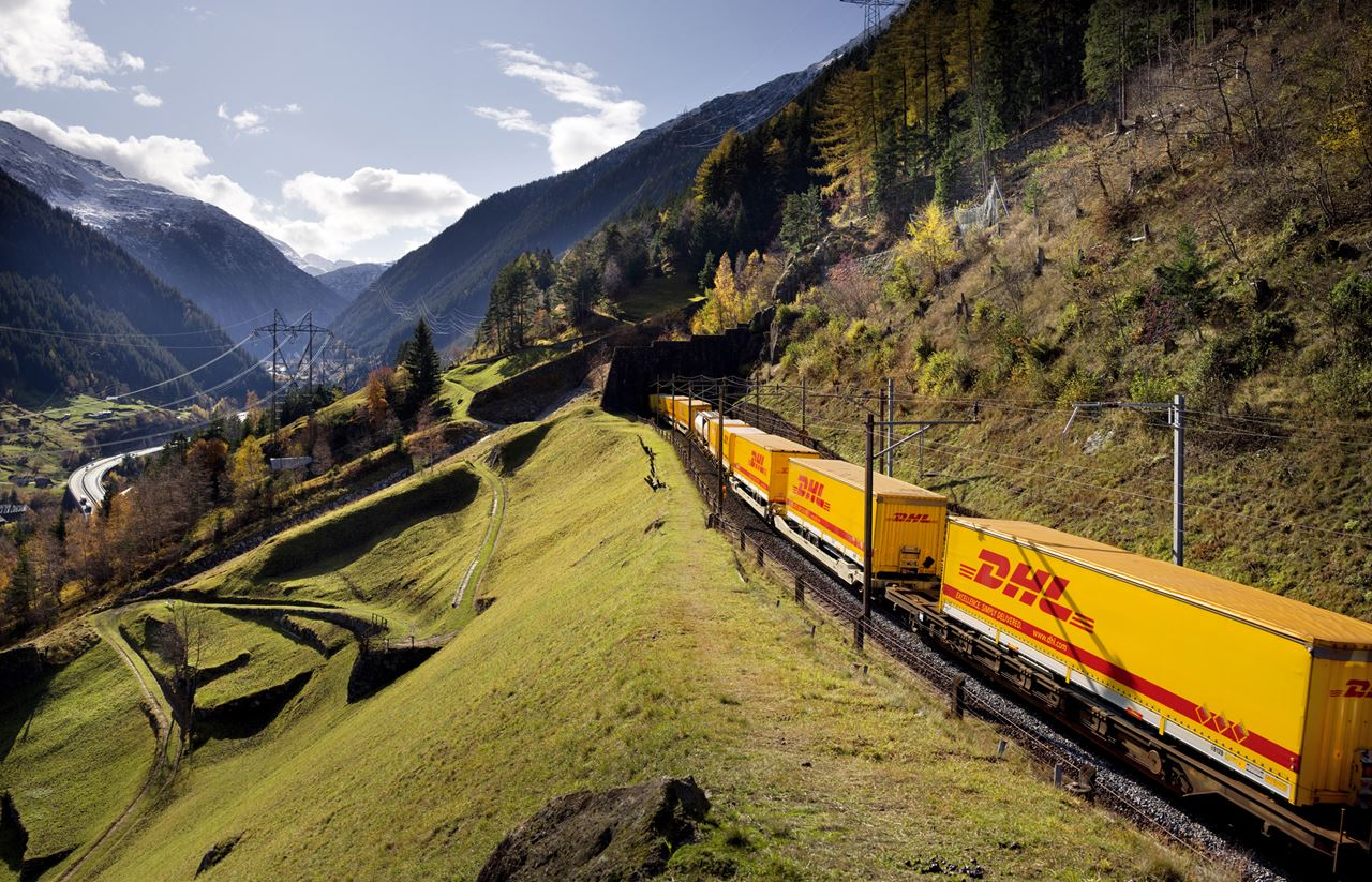 Ruta ferată DHL Europa