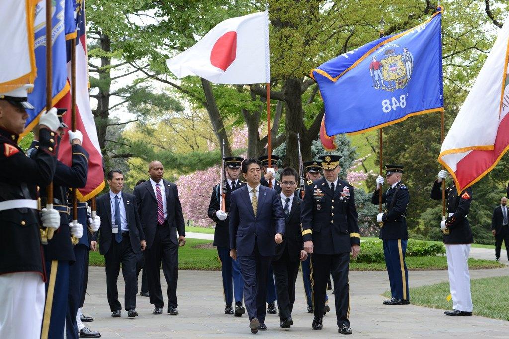 Prim-ministrul Japoniei, Shinzo Abe