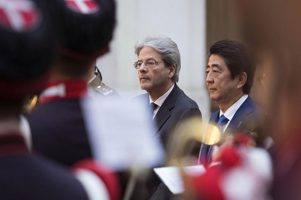 Abe în Italia