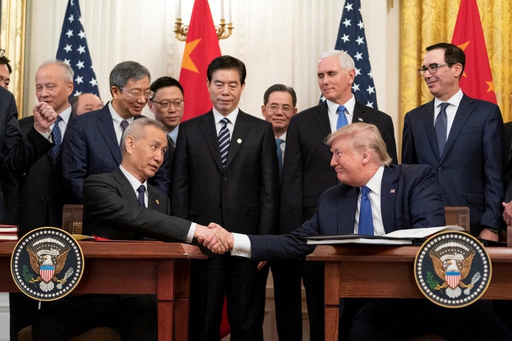 Acord Razboiul Comercial China-SUA 2020